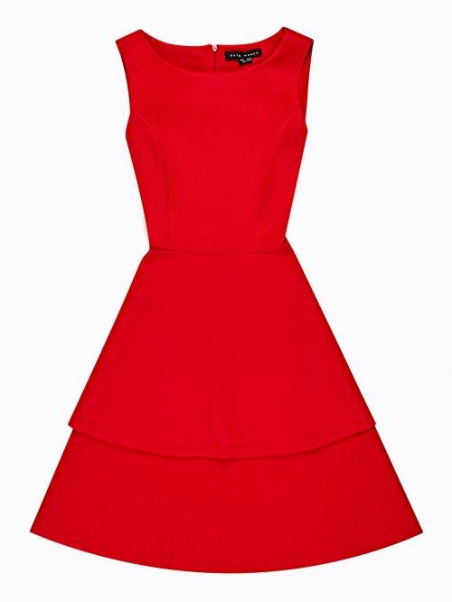 4a2666f418b8 Šaty s vrstvenou sukní