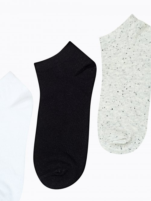 3-pack basic ankle socks