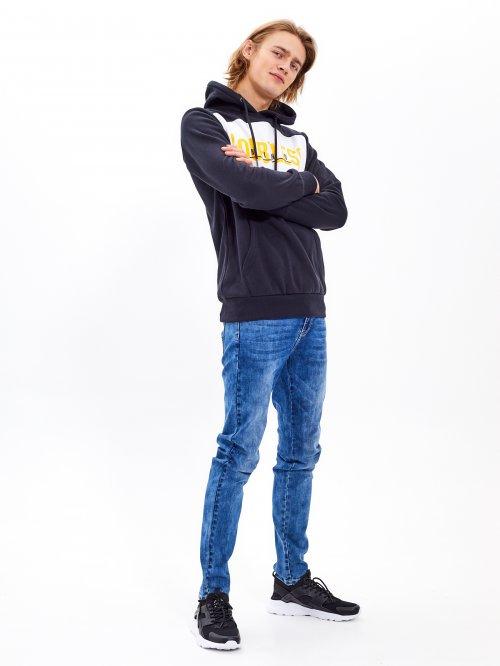 680d82413492 Základné džínsy straight slim