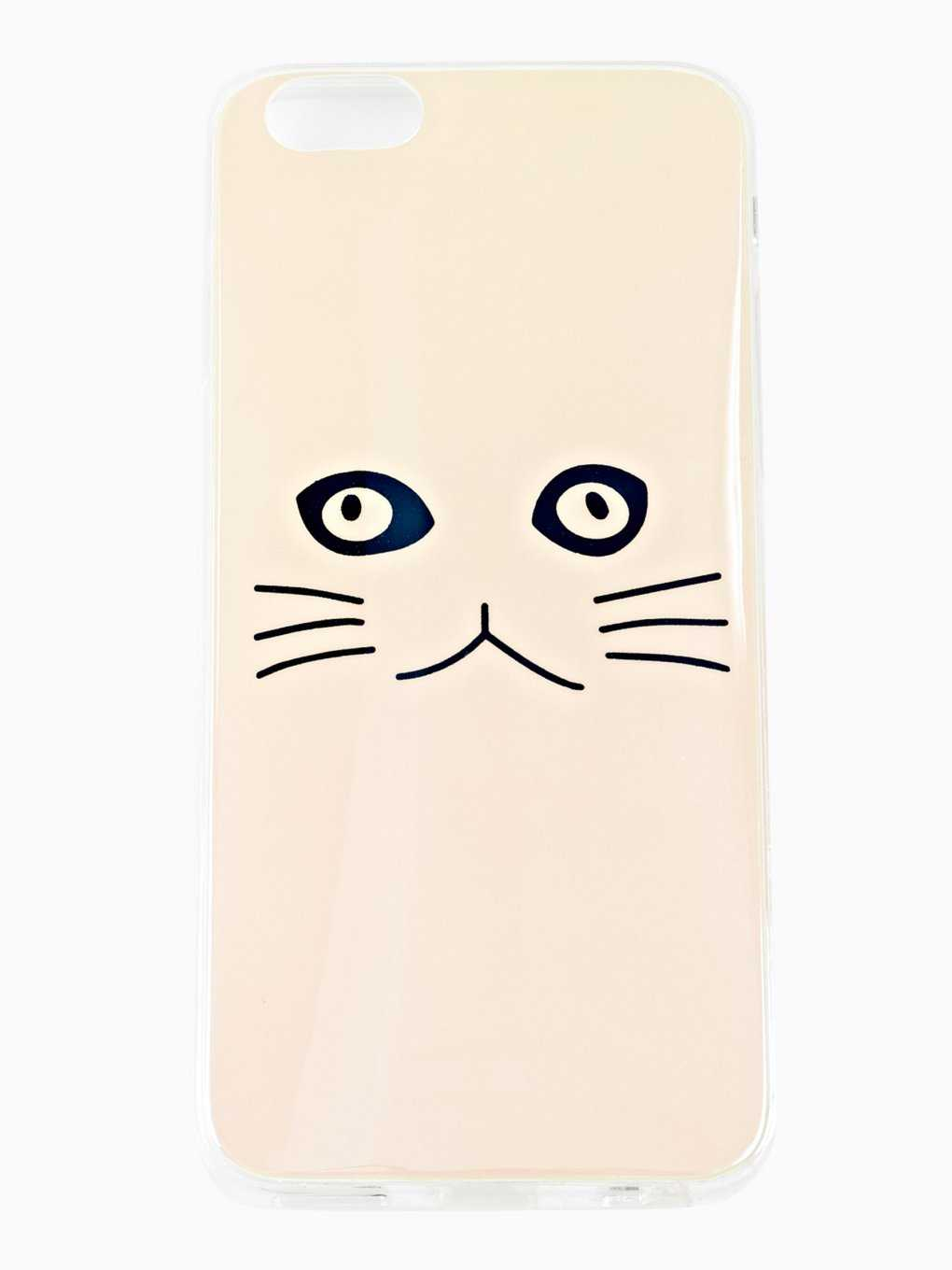 KITTY FACE PHONE CASE