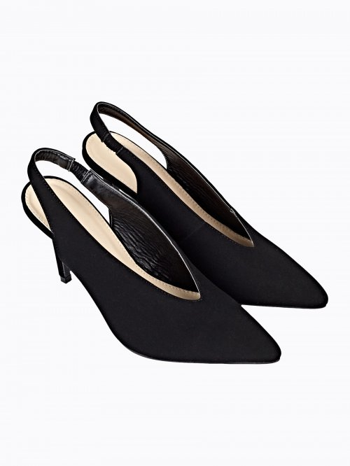 POINTED SLINGBACK PUMPS