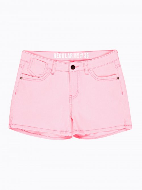 DENIM PINK SHORTS