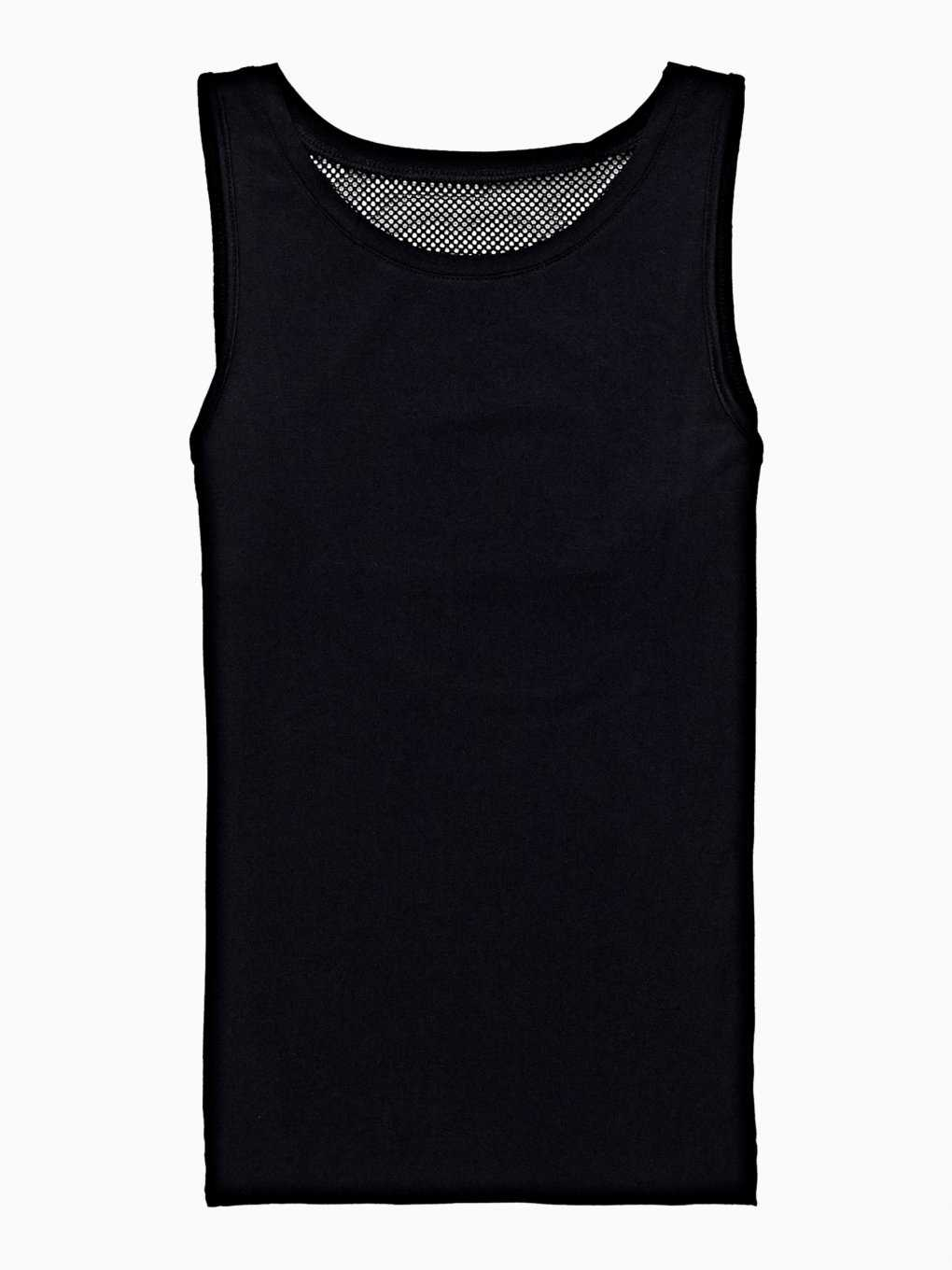 SPORTS TANK WITH MESH