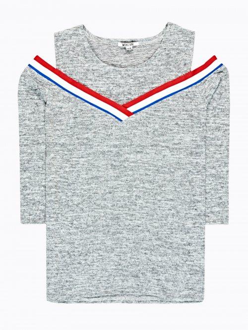 5b657ed00381 VÝPREDAJ Dámske tričká s dlhým rukávom