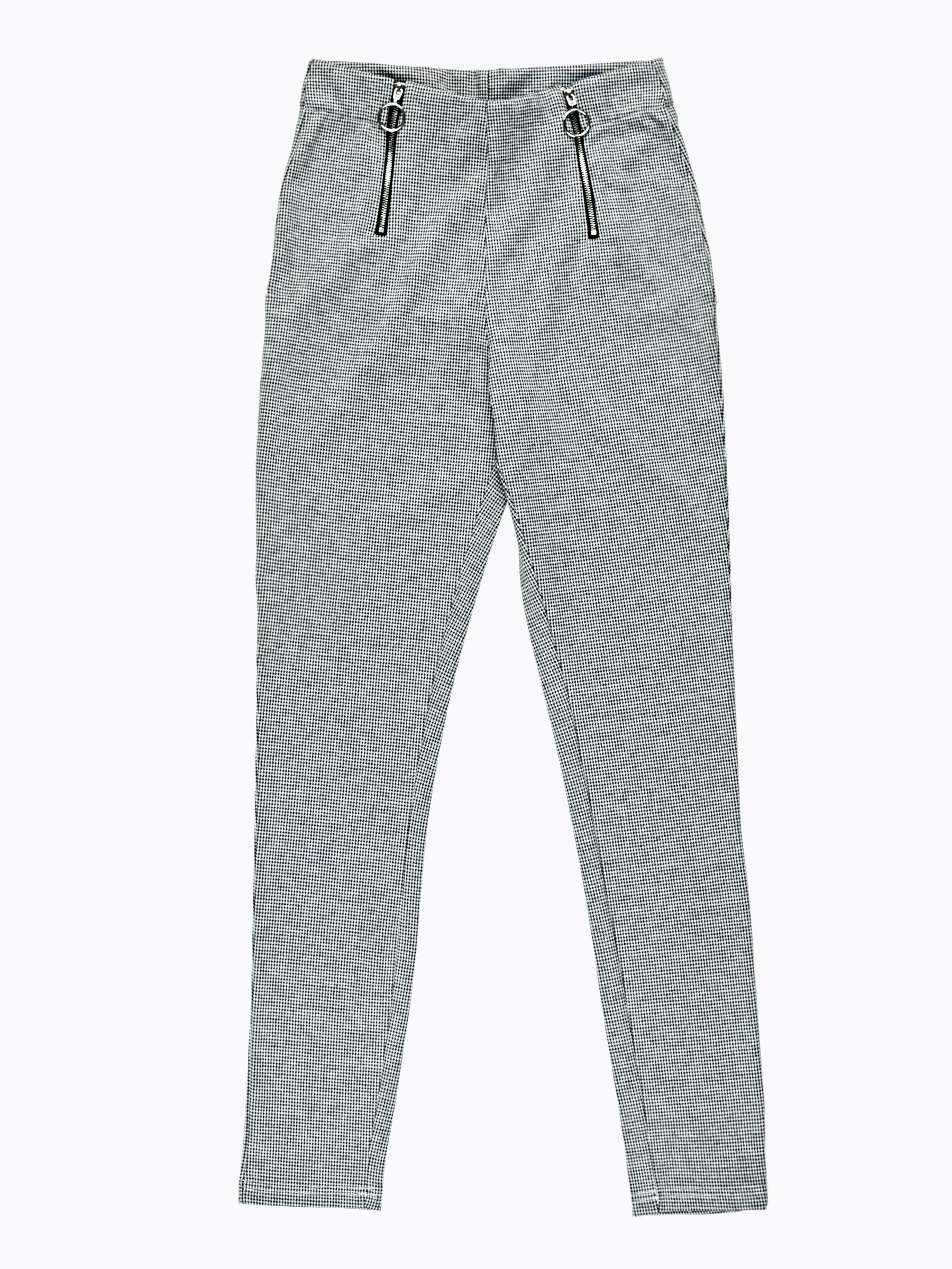 b457df4982b9 Vzorované nohavice z úpletu