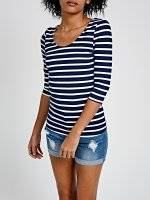 STRIPED T- SHIRT