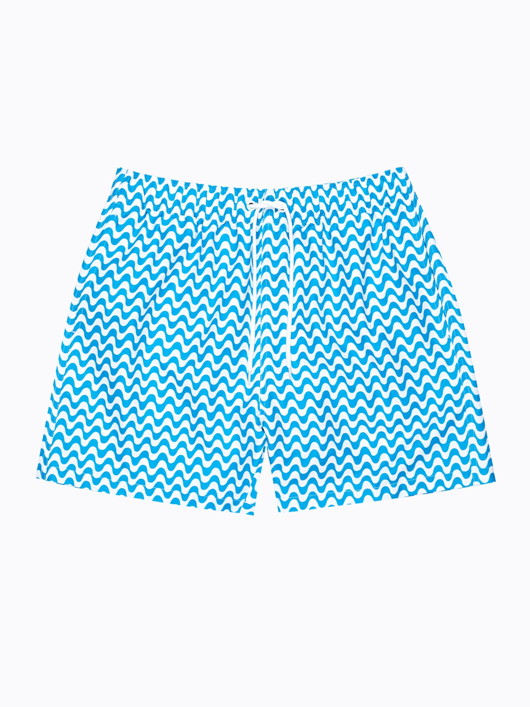 GATE Plavecké šortky s potlačou