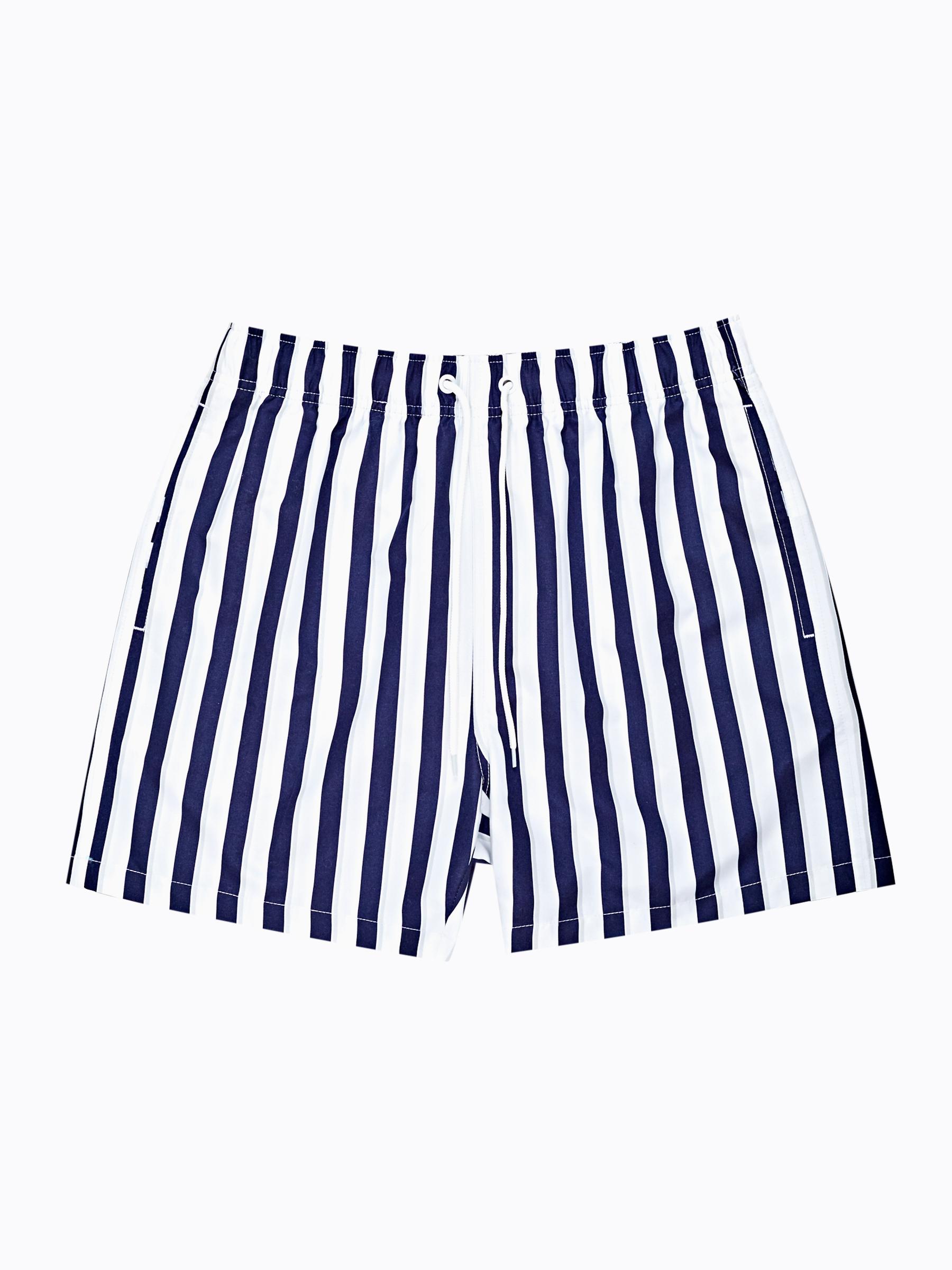 GATE Pruhované plavecké šortky
