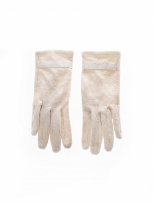Basic gloves in wool blend