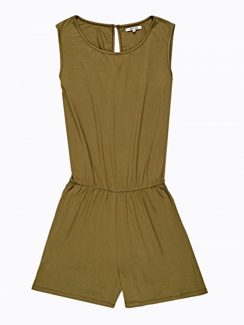 VISCOSE SHORT JUMPSUIT