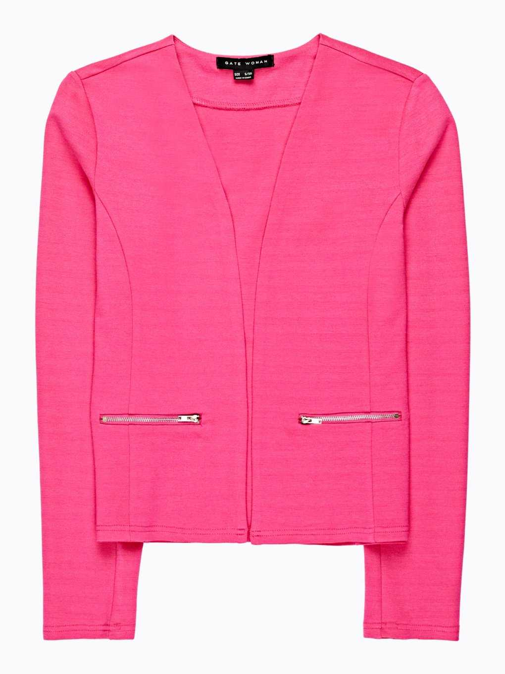 Blazer with zippers