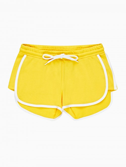 SWEAT SHORTS WITH CONTRAST TRIM