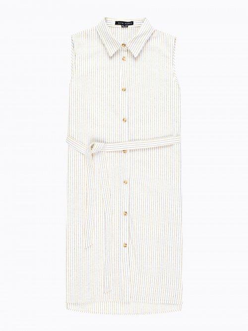1578972c6214 Striped shirt dress