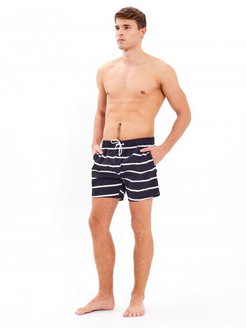 Striped swimshorts