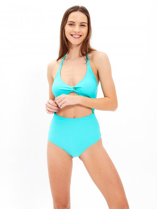 Swimsuit with cutouts