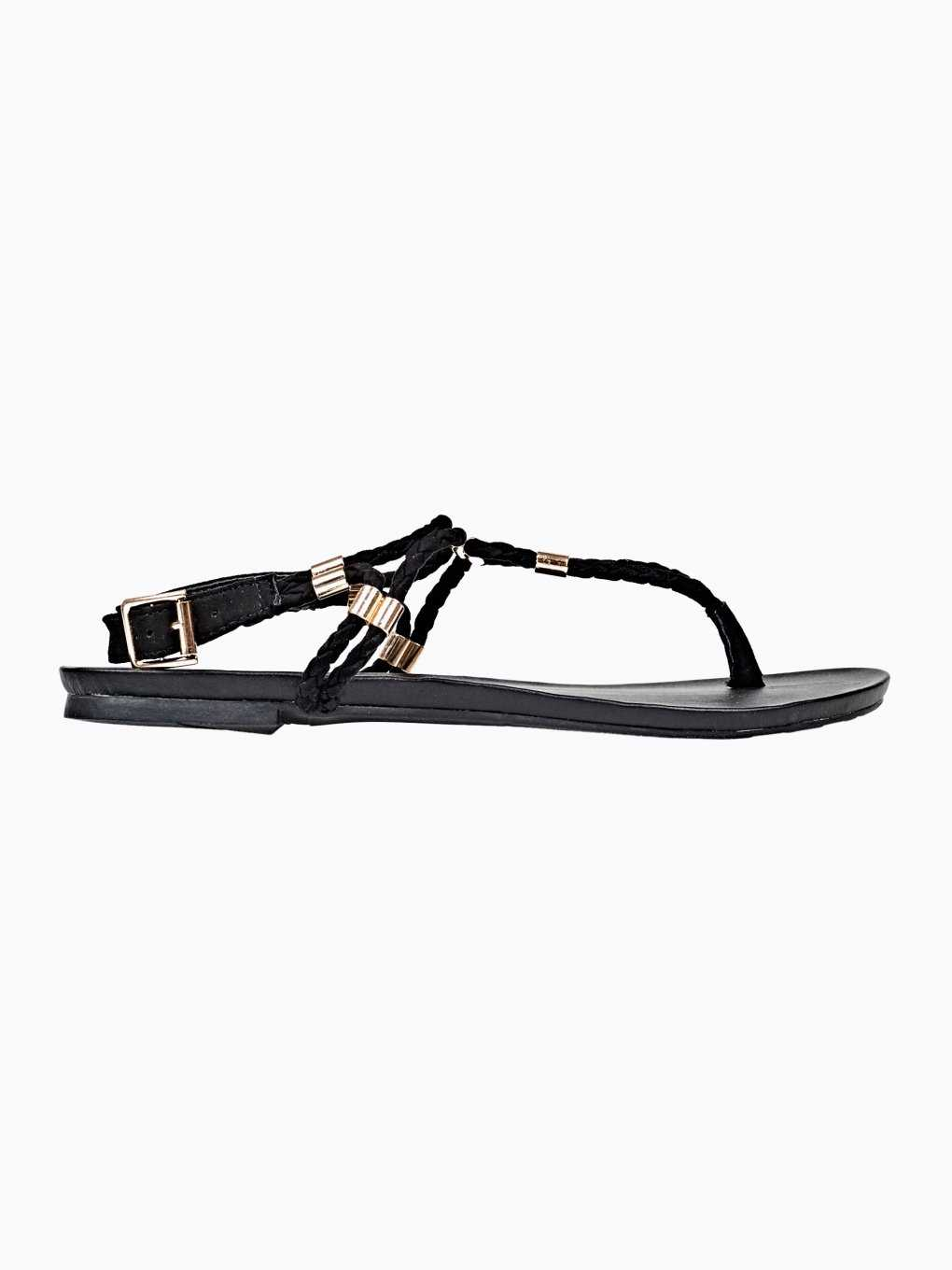 SANDALS WITH METAL DETAILS
