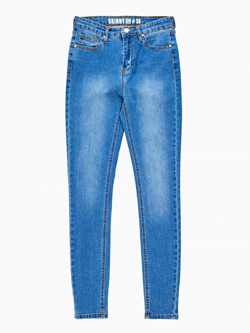 Basic high waisted skinny jeans