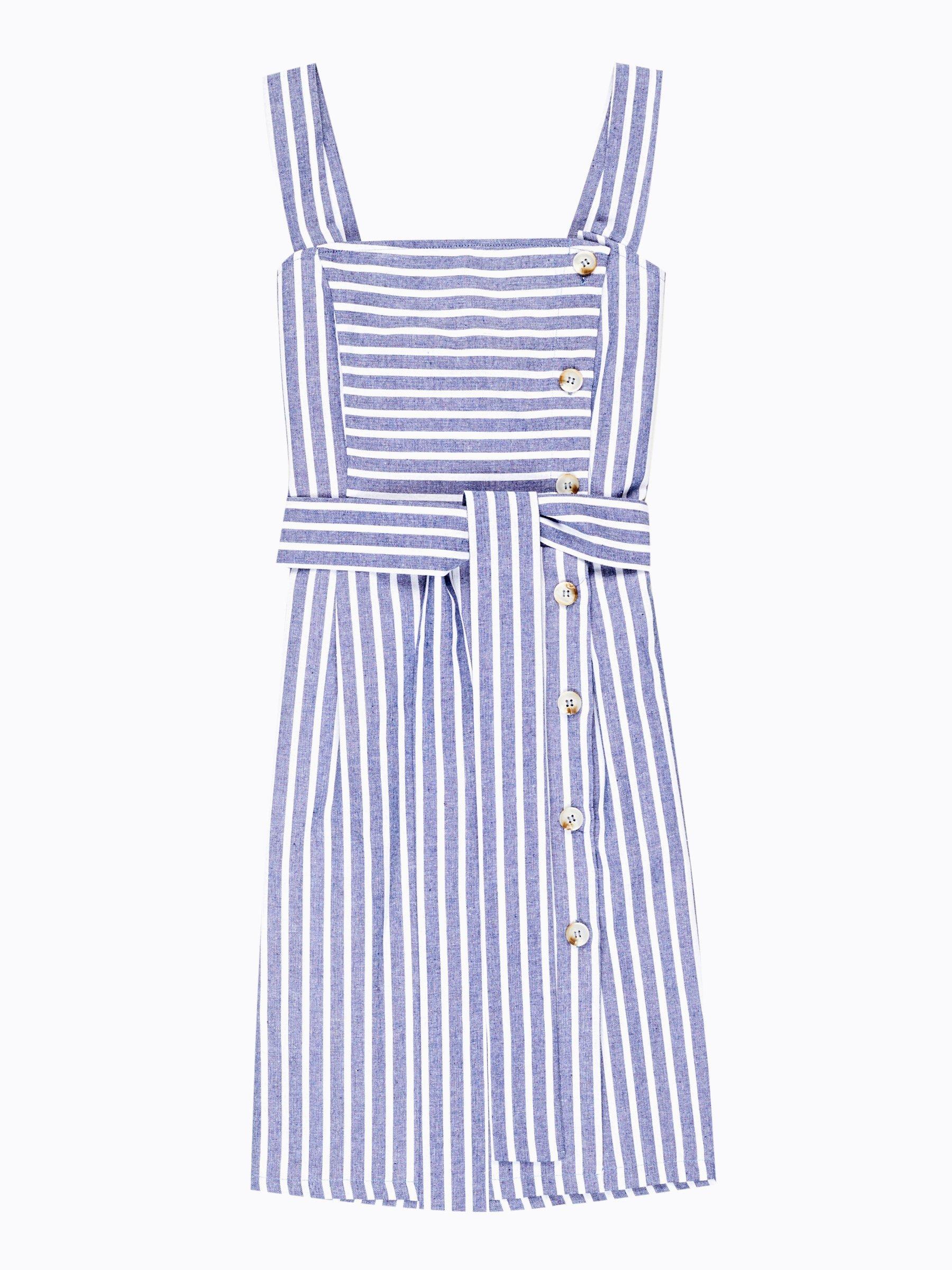 19434792b149 Prúžkované šaty s gombíkmi