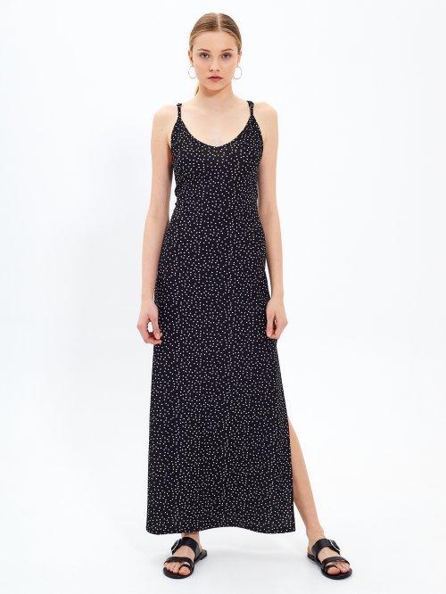 8f337ee939 Dlhé šaty s potlačou