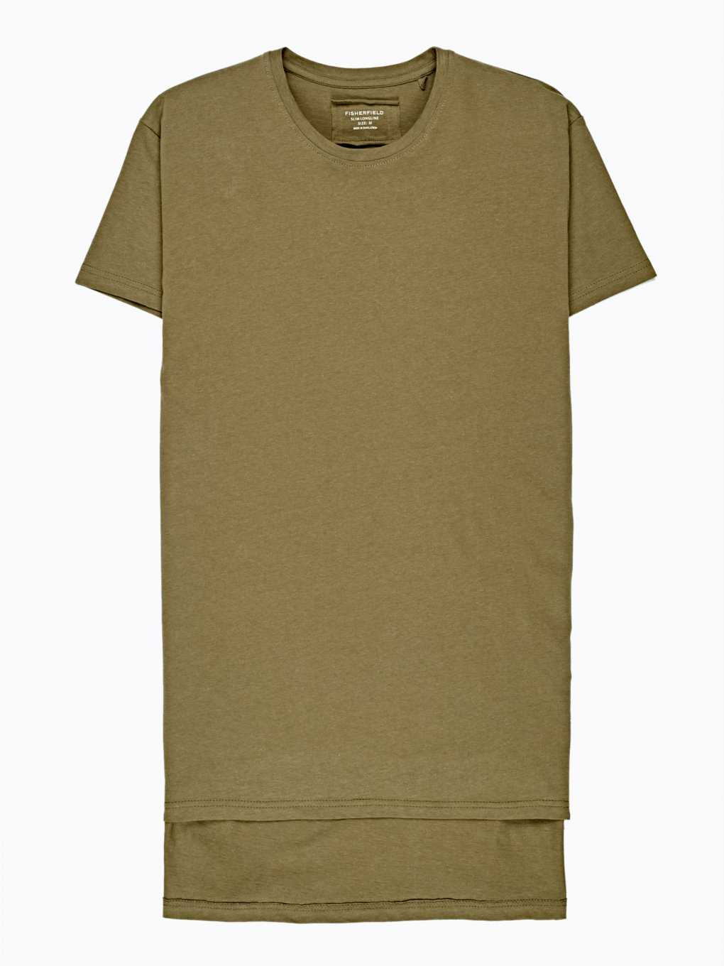 LONGLINE T-SHIRT WITH SIDE ZIPPERS