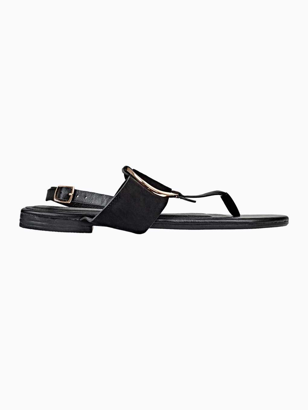 SANDALS WITH METAL RING