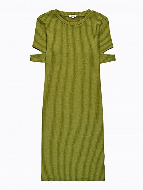 272def8e70bb Rebrované puzdrové šaty