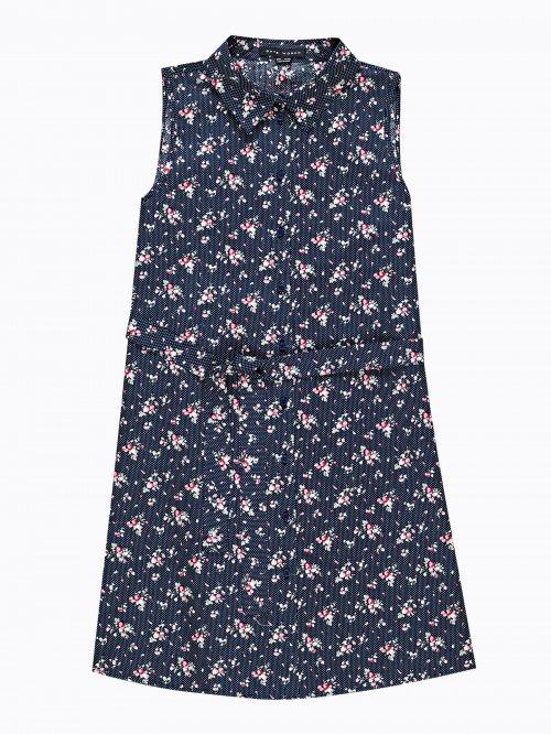 6de45a4fa95f Košeľové šaty s potlačou