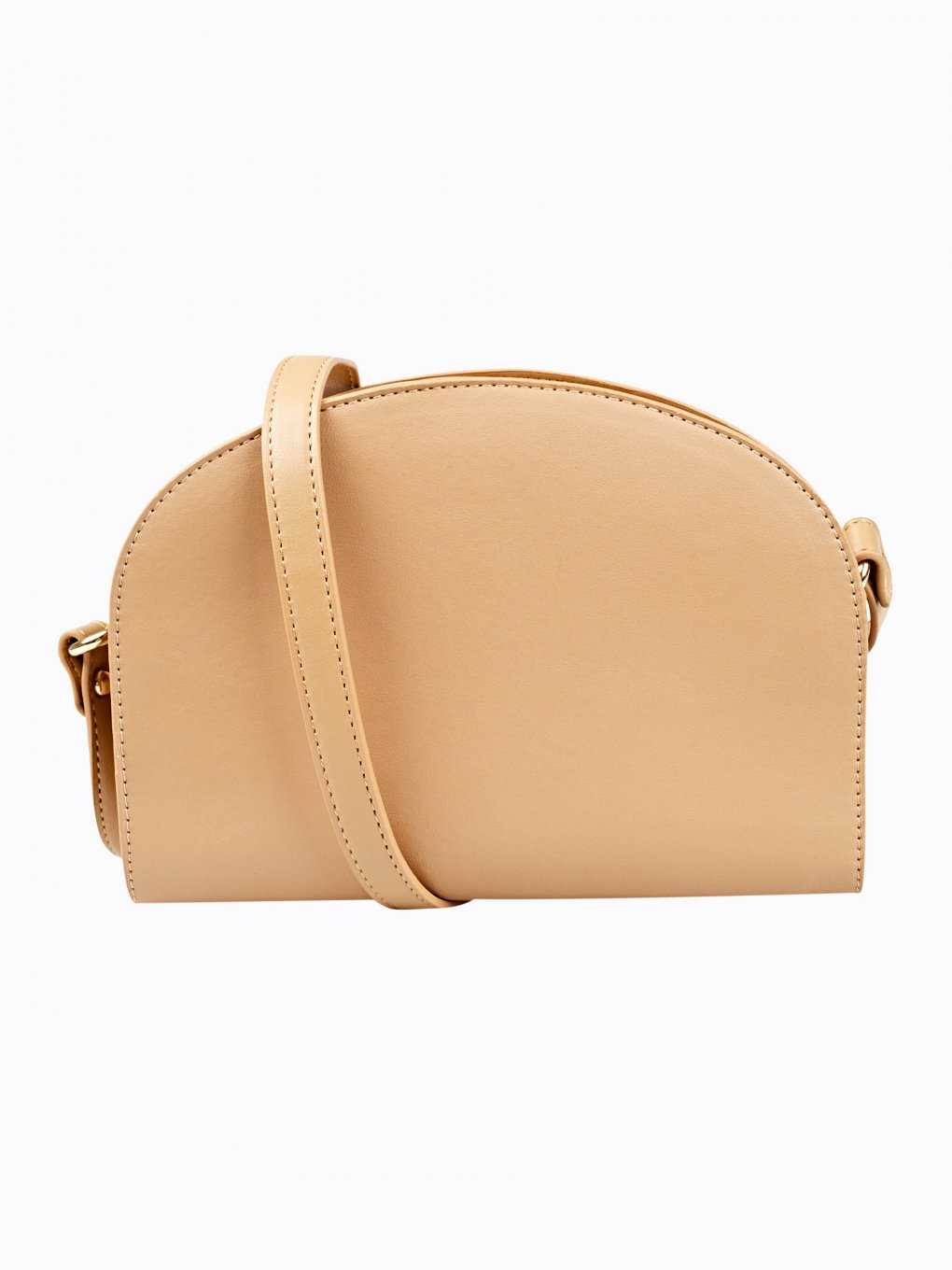 Half-moon cross body bag
