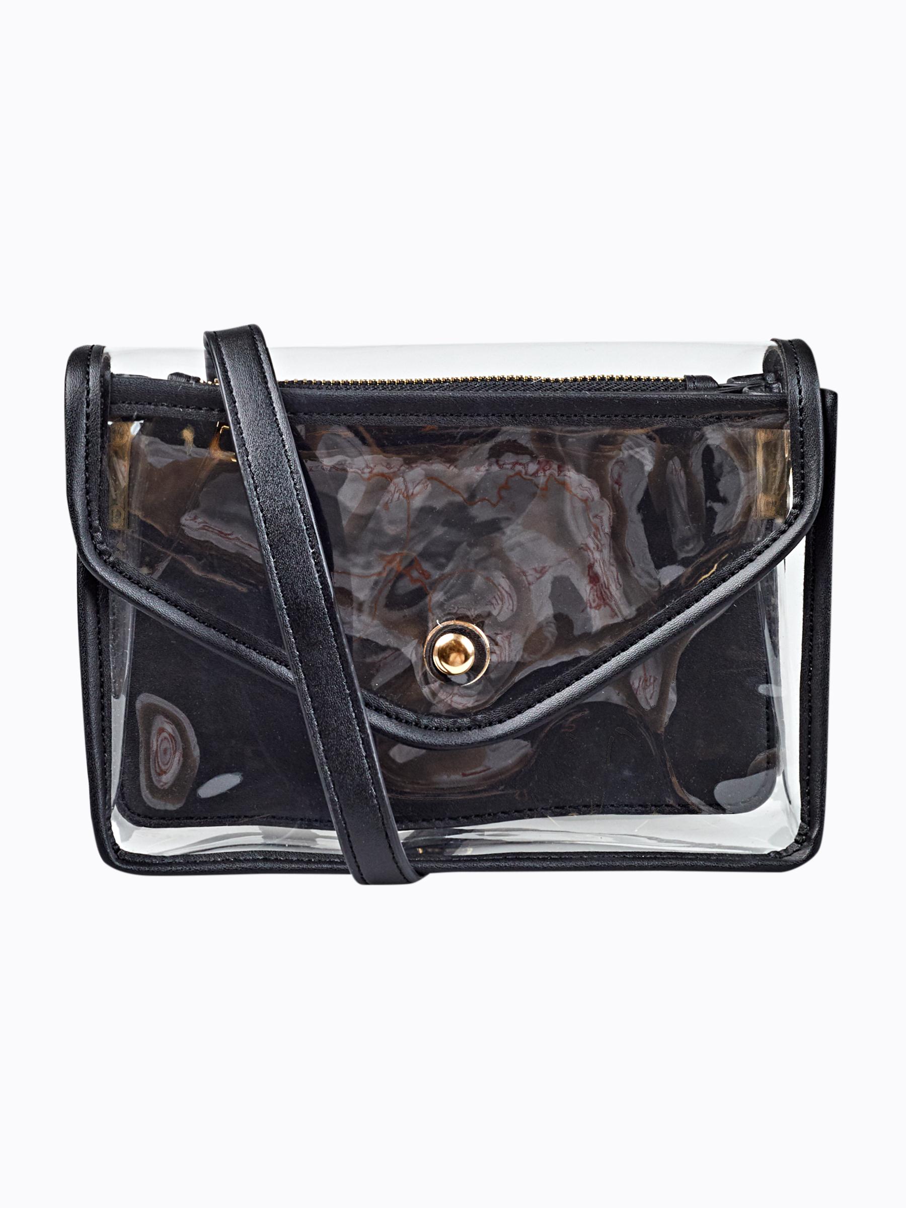 GATE Průhledná kabelka přes rameno
