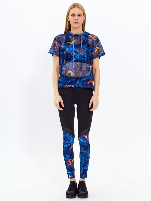 Sports leggings with print