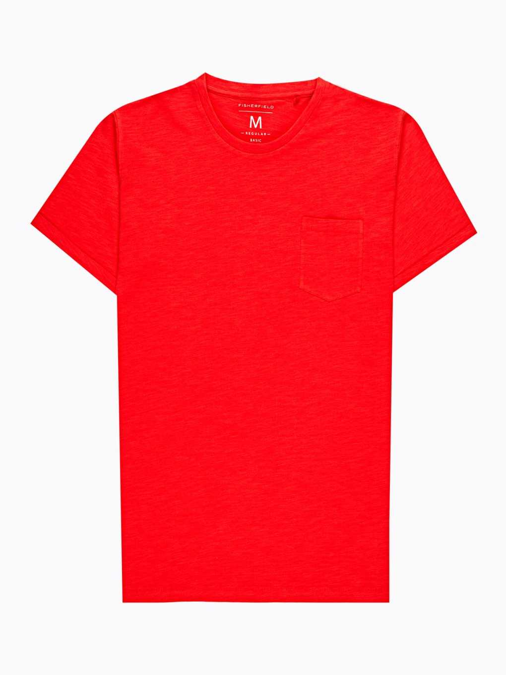Basic slub jersey t-shirt with chest pocket