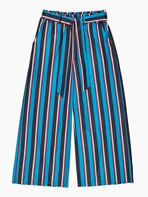 Striped culottes