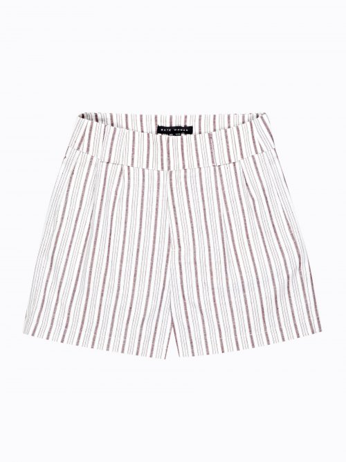 Highwaisted striped shorts