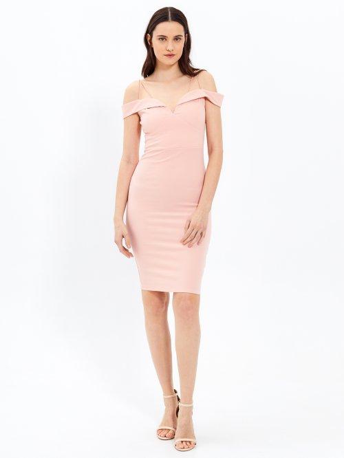 b813d69df75e Puzdrové šaty na ramienka