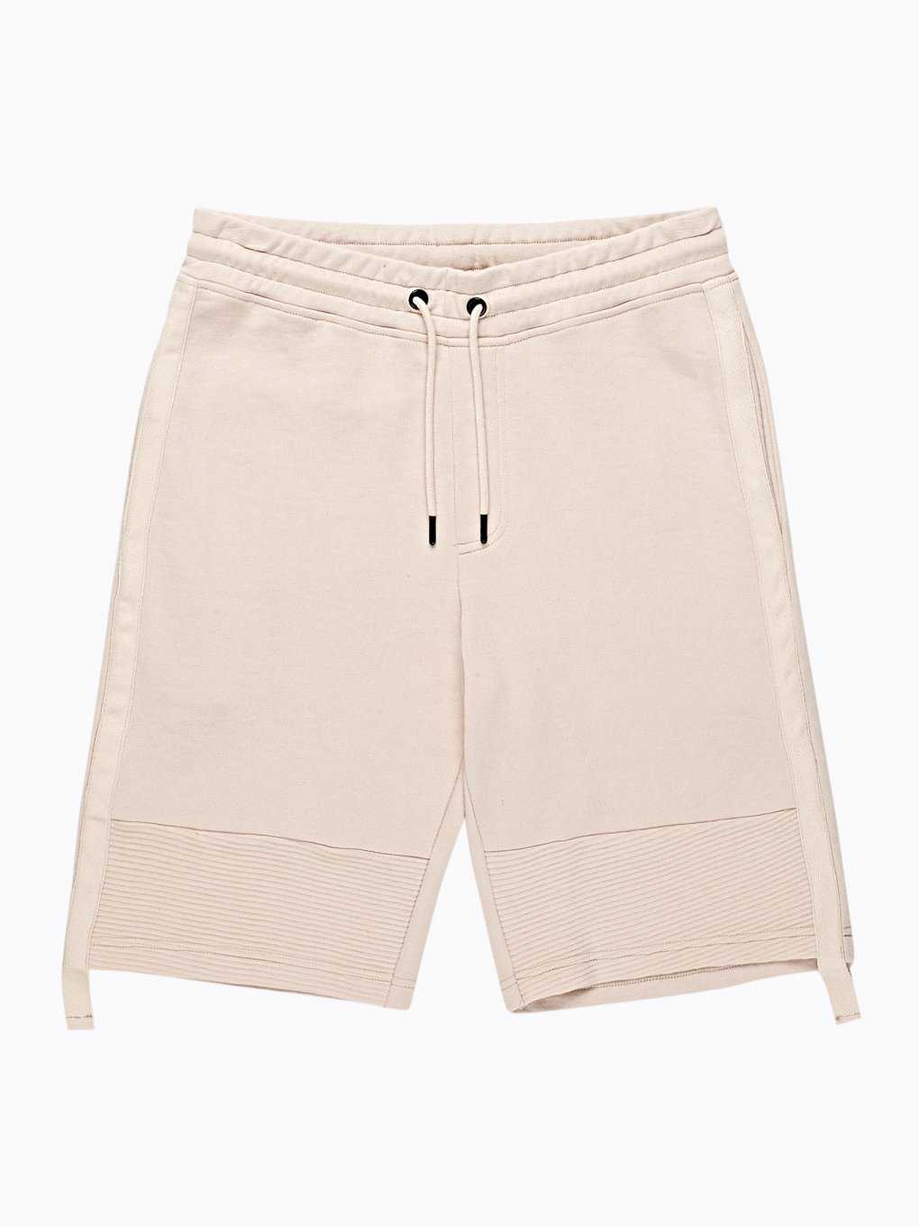 SWEAT SHORTS WITH TAPE