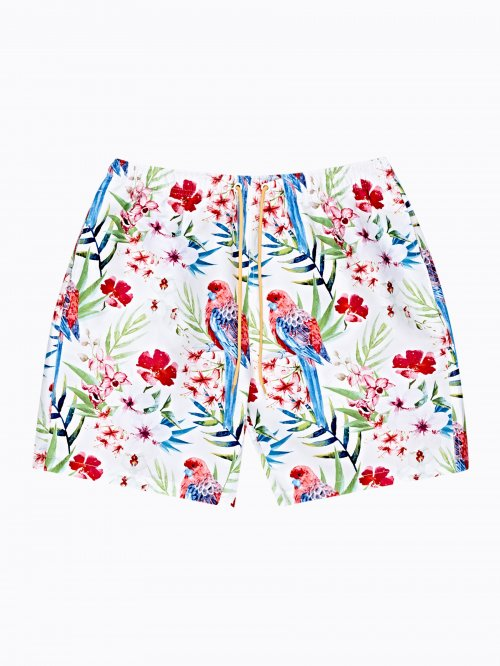 FLORAL PRINT SWIMSHORTS