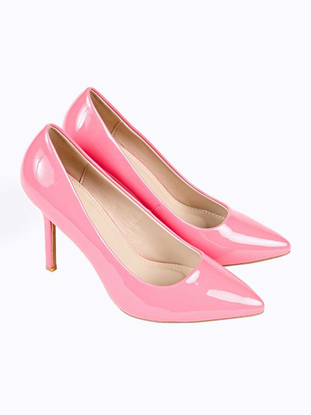 PATENT FINISH PASTEL PUMPS