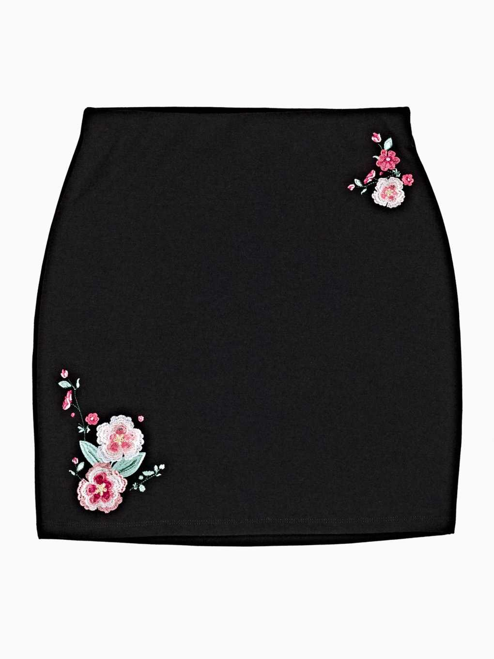 MINI SKIRT WITH EMBROIDERY
