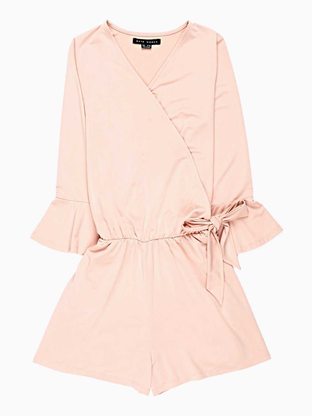BELL SLEEVE SHORT JUMPSUIT