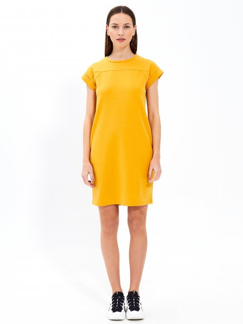 T-shirt dress with side pokets