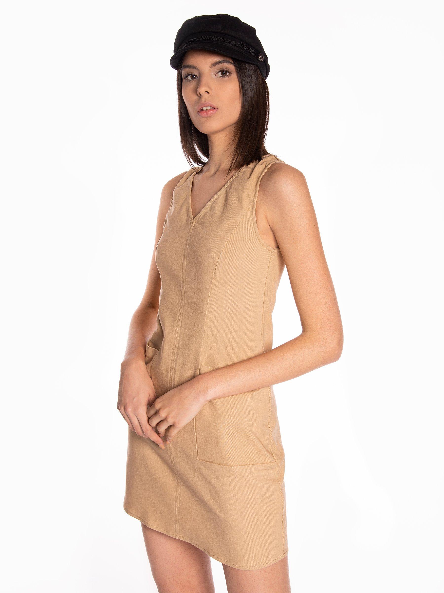 9ba53cb78aae Mini dress with pockets | GATE