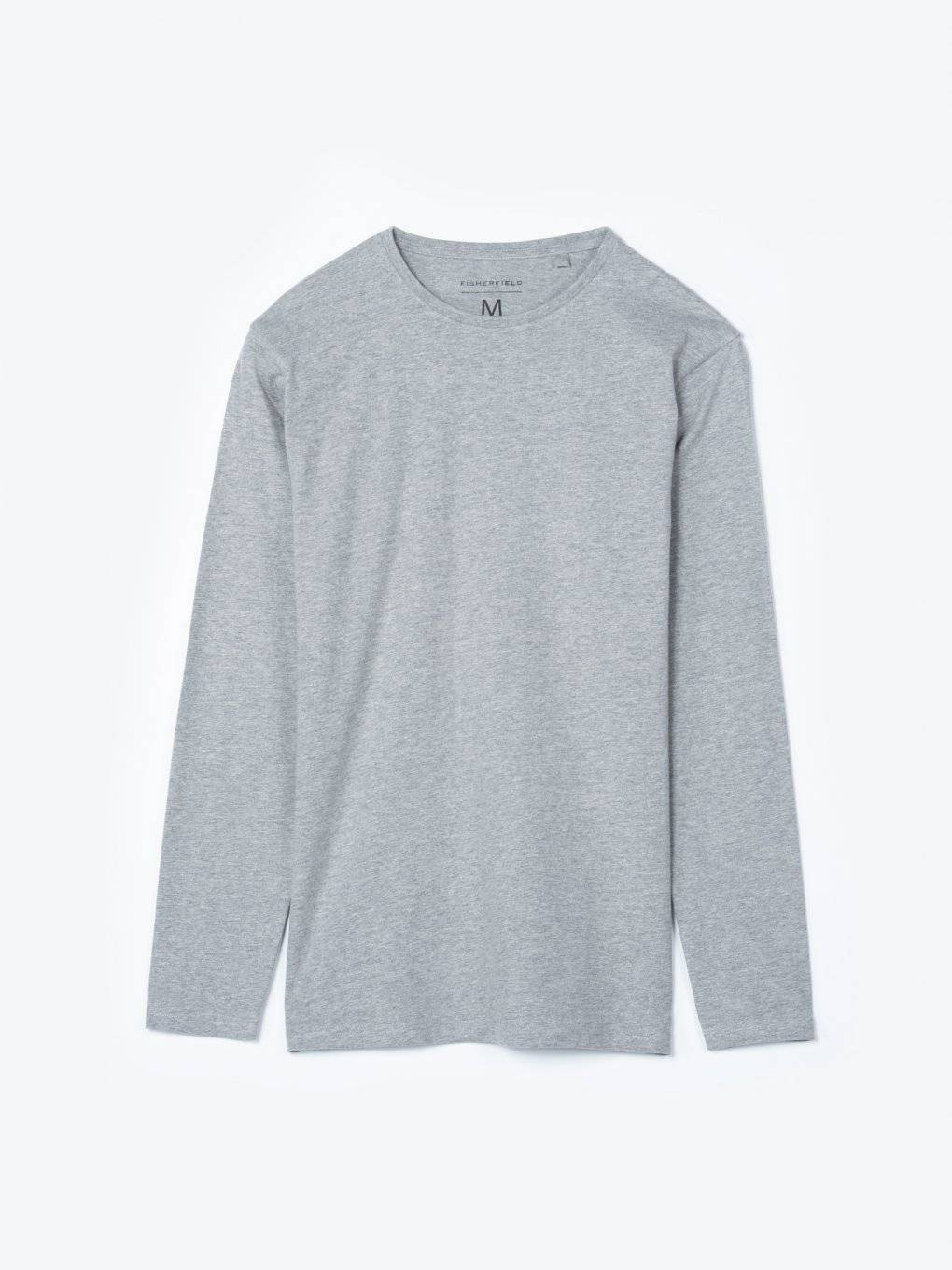 Basic slim fit long sleeve t-shirt