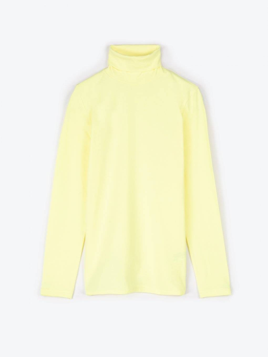 Neon turtleneck t-shirt