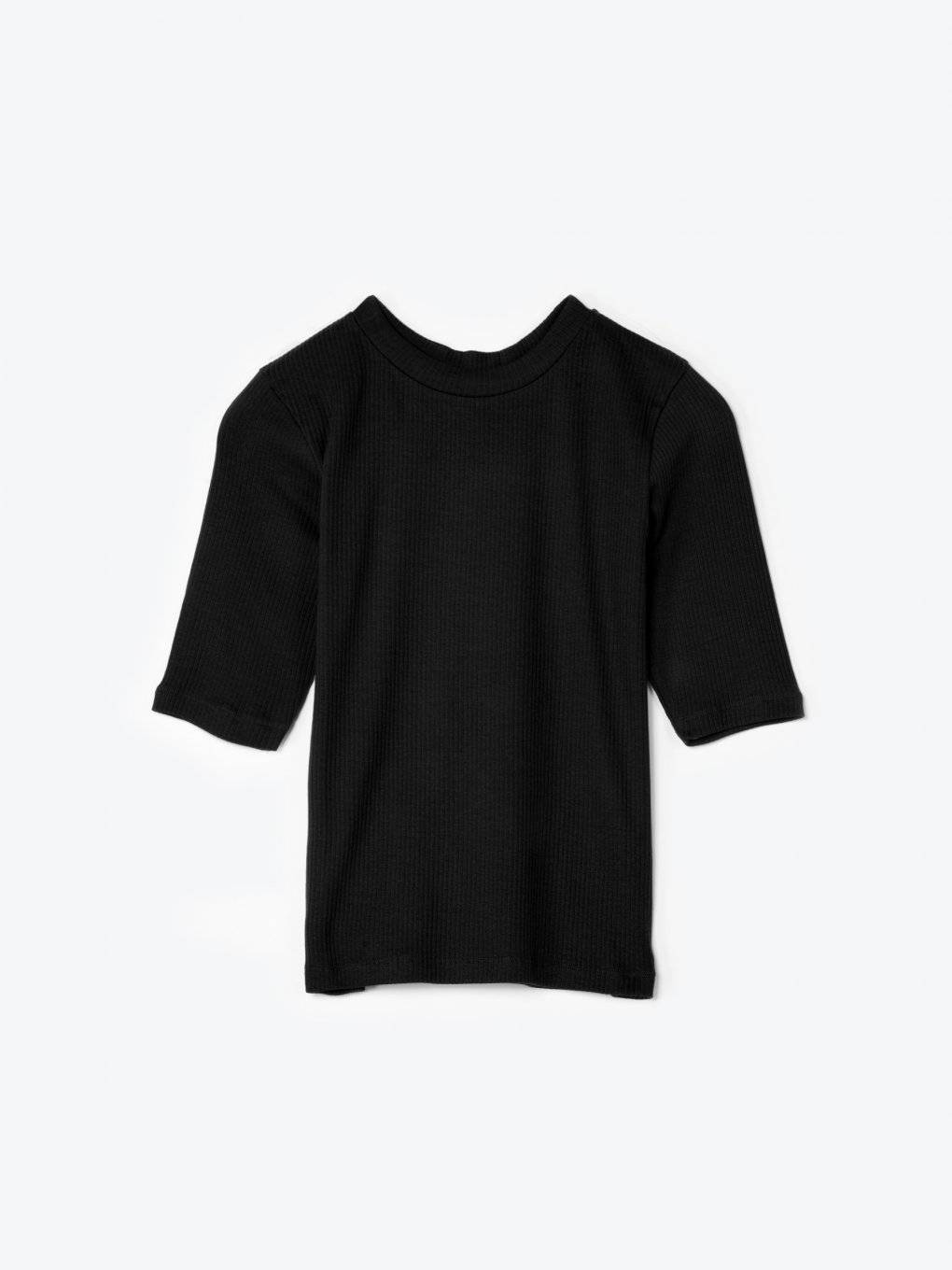 Basic ribbed t-shirt
