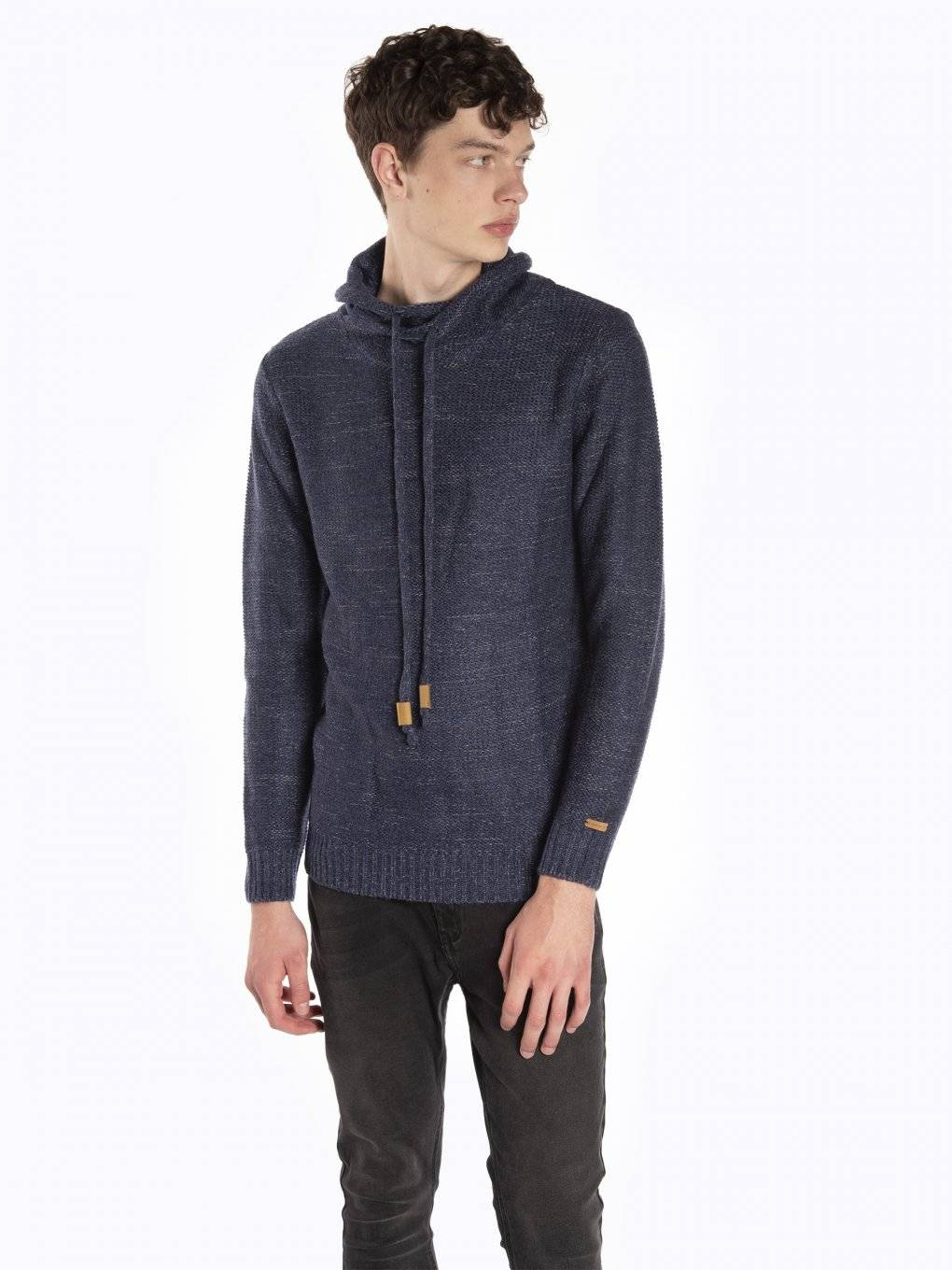 Marled turtleneck jumper
