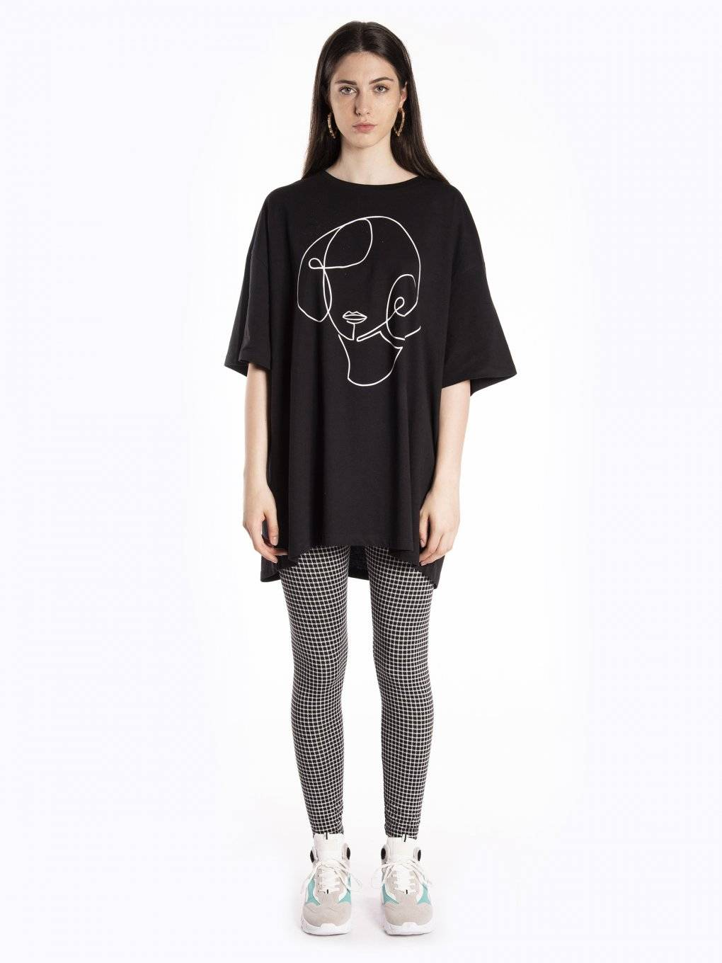 Oversized t-shirt with print