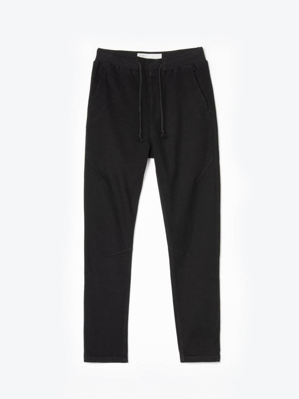 Plain jogger fit trousers