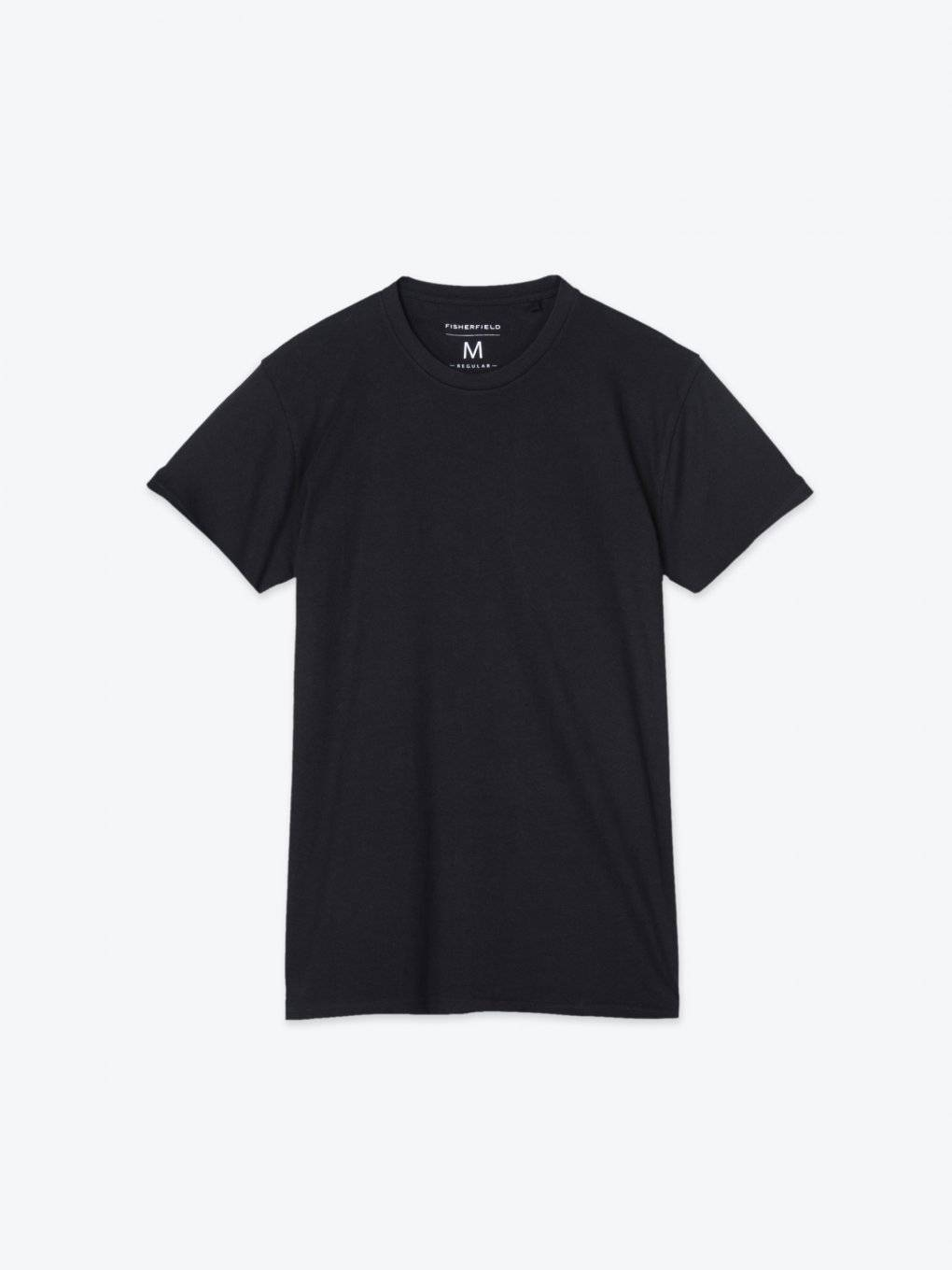 Basic regular fit short sleeve t-shirt