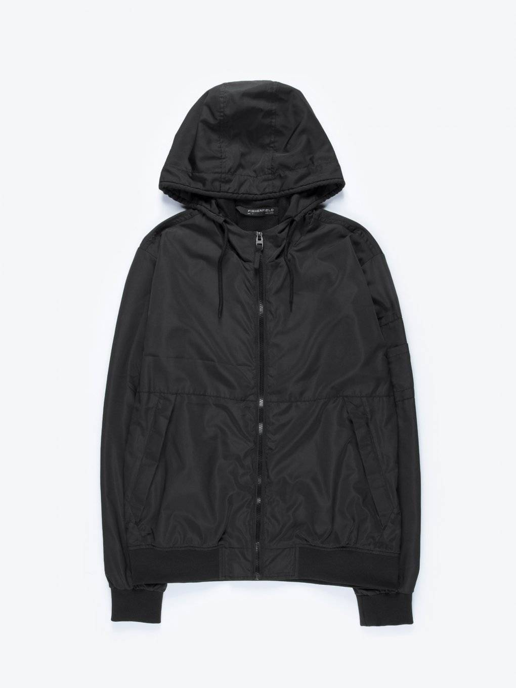 Plain windbreaker