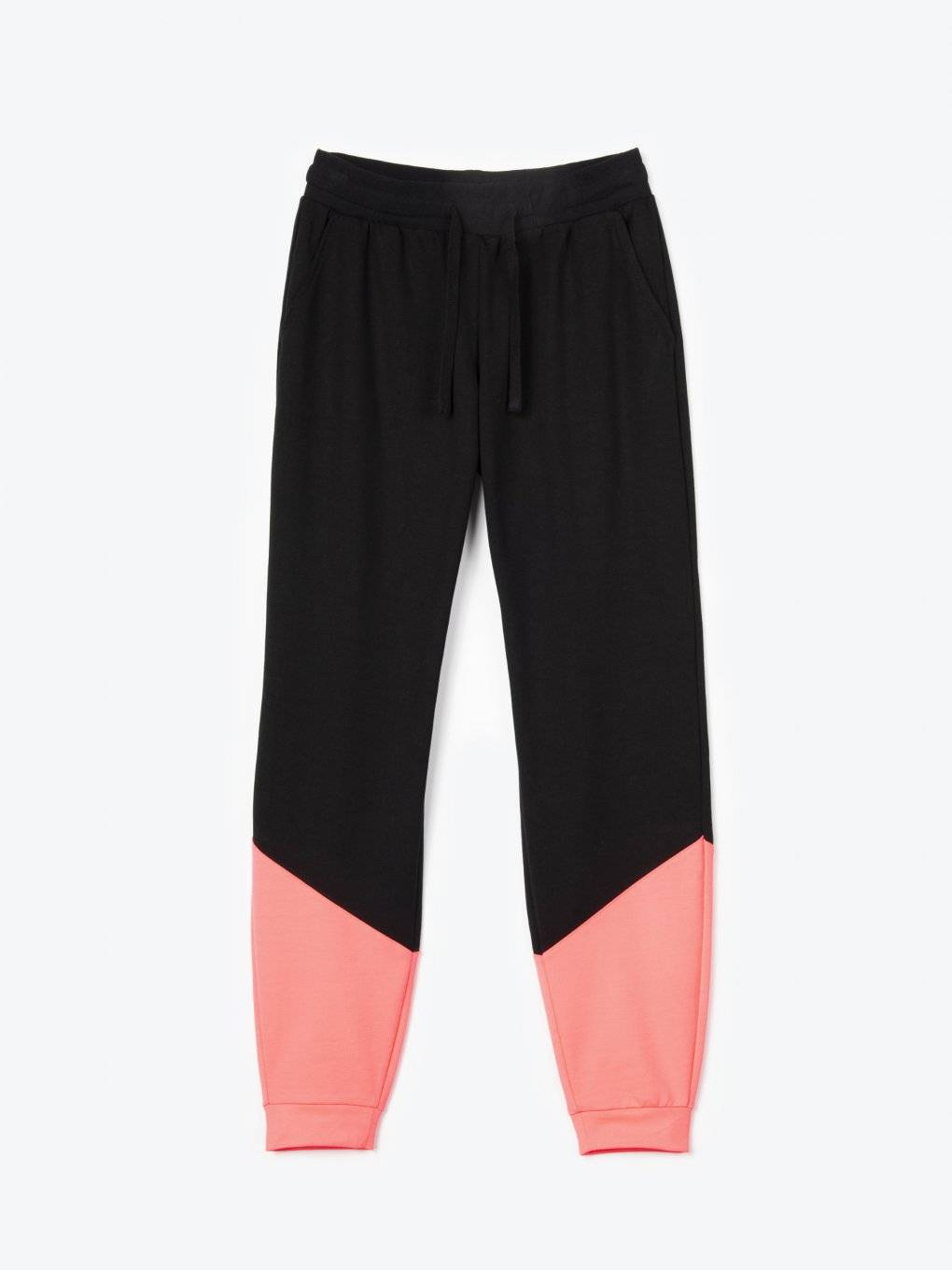 Neon panel sweatpants